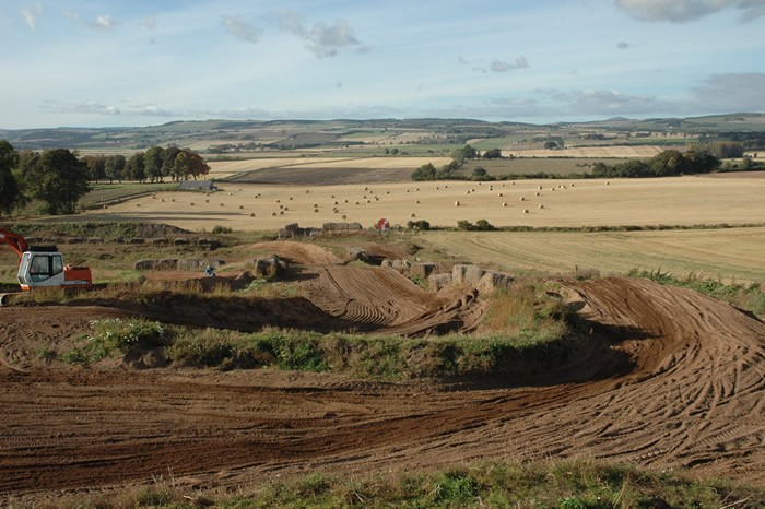 Coupar Angus Motocross Track, click to close